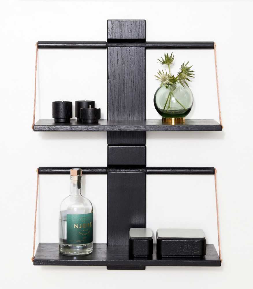 Andersen Furniture Andersen Furniture - Shelf Wood - Liten 30x18x24 cm - sort