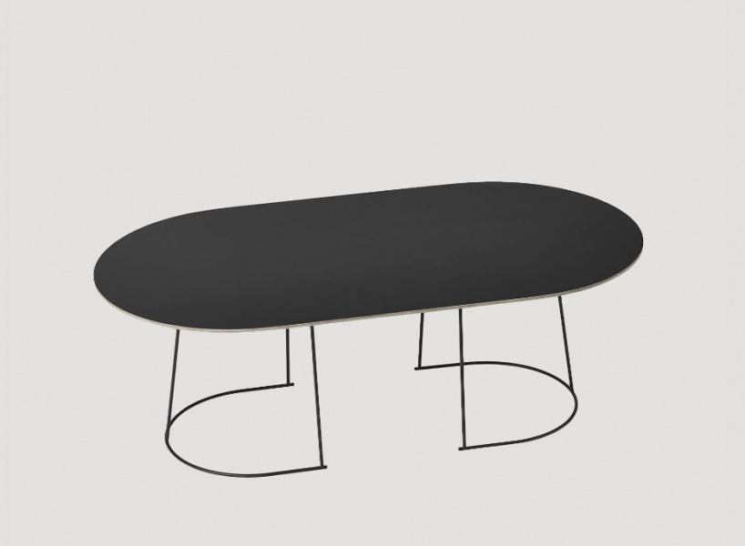 Muuto - Airy Coffee Table - Sort