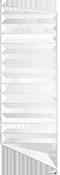 String hyllesystemer String - Floor Side Panel - 85x30cm 2 pack Black
