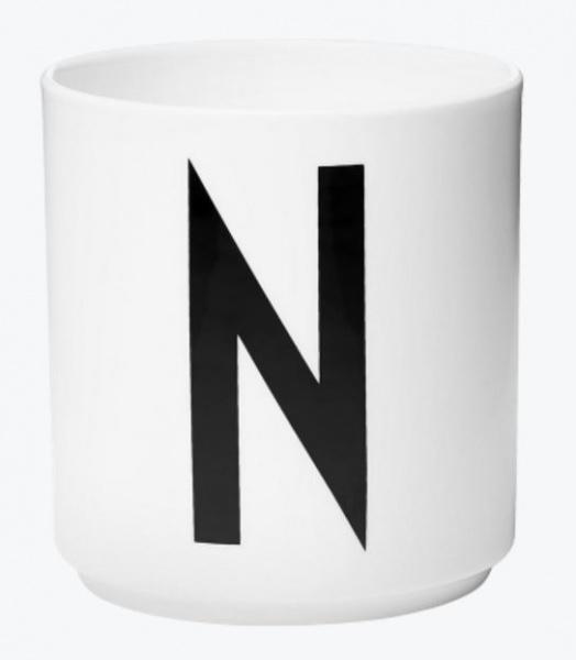 Herlig Design Letters - Kopp Porselen - A-Æ - www.Flowinterior.no EC-88